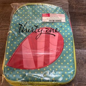 NWT Thirty One Gifts Chillicious Thermal